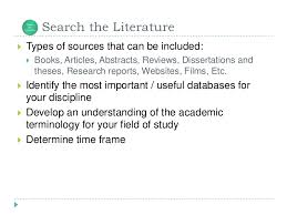 How to conduct a literature review ppt   www denisshadrin com A word about Peer Reviewed Articles     Use   Peer Reviewed Journal Articles     Not all