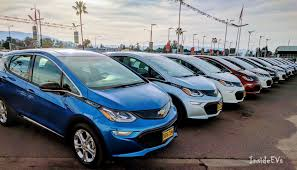 nissan leaf vs chevy bolt chevrolet bolt ev sales race higher in january but volt still king
