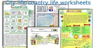 English teaching worksheets  City life country life ESL Printables City life country life worksheets