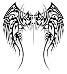 Angelic tribal wings by insomnia-maniac on deviantART - Downloadable