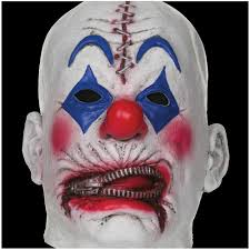 halloween mask costumes zipper clown halloween mask mad about horror