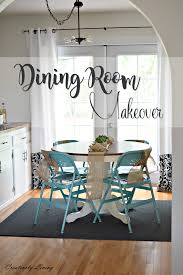 Dining Room Makeovers by A Holiday Dining Room Makeover Room Reveal Creatively Living Blog