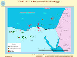Map Egypt Map Image Zohr A 30 Tcf Gas Discovery Offshore Egypt