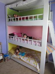 Diy Bunk Bed With Slide by 31 Diy Bunk Bed Plans U0026 Ideas That Will Save A Lot Of Bedroom Space