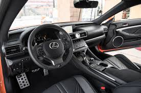 lexus rc red interior all new 2015 lexus rc f packs 467 horsepower and 63 325 starting