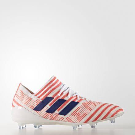 adidas Nemeziz 17.1 Firm Ground Soccer Shoes White- Womens