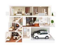lovely floor plan rendering 4 3d apartment floor plans 1280 x 995