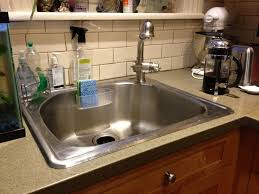 simple kitchen sink