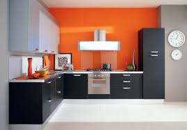 modern kitchen interior decor idea with mdf island also large