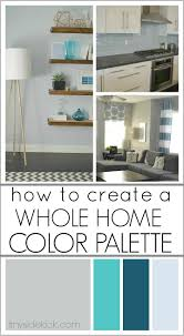 How To Choose Paint Colors For Your Home Interior Basement Color Palette Great Color Palette For Basement