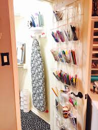 a room for crafting and a closet of craziness