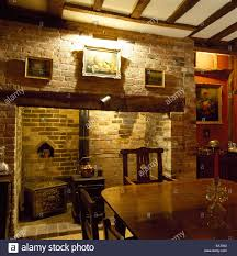 Country Style Dining Room A Traditional Country Style Dining Room Inglenook Fireplace
