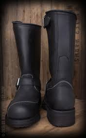 real biker boots biker boots real leather perfect rockabilly style