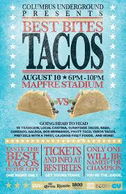 Halloween Usa Columbus Ohio Columbus Taco Festival U2013 Thursday August 10th At Mapfre Stadium