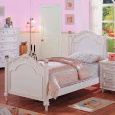 Full Size Bed In A Bag For Girls by Crystal Bedroom Collection Full Panel Bed In White