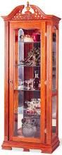 Oak Curio Cabinet Curio Cabinet Astounding Red Curio Cabinet Pictures Design