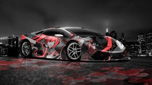 Lamborghini Huracan Colors - lamborghini huracan anime aerography city car 2014 el tony