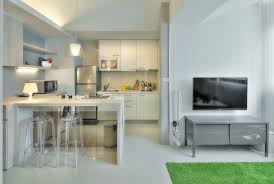 Interior Design For Small Spaces Living Room And Kitchen Small Taipei Studio Apartment With Clever Efficient Design