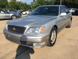 lexus ls ground clearance 1998 used lexus ls 400 luxury sdn 4dr sedan at car guys serving