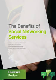 The Benefits of Social Networking Service   Literature Review     The Benefits of Social Networking Service   Literature Review  Melbourne  Vic  Cooperative Research Centre for Young People  Technology and Wellbeing