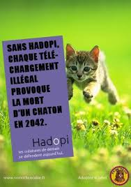 Parodie d'affiche HADOPI