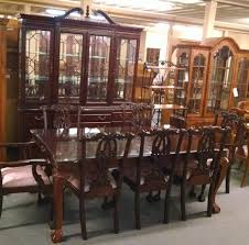 stanley table chairs and hutch delmarva furniture consignment