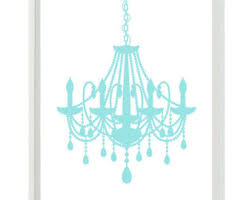 White Shabby Chic Chandelier by Shabby Chic Chandelier Etsy