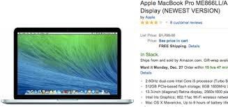 amazon top black friday deal macbook pro with retina display black friday deals at best buy amazon