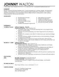 Best Software Developer Resume by Resume Format For 1 Year Experienced Software Developer Free