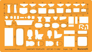 1 50 scale architectural sanitary plumbing fixtures architect