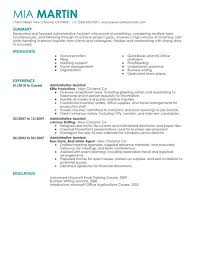 Unforgettable Administrative Assistant Resume Examples to Stand     Administrative Assistant Resume Sample