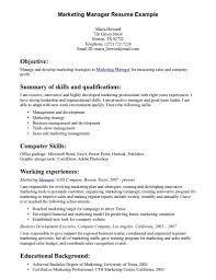 Online Marketing Manager Resume by Director Of Sales Resume Sample Best Free Resume Collection