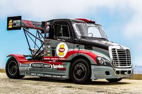 monster truck racing super series semi truck banks freightliner super turbo pikes peak truck