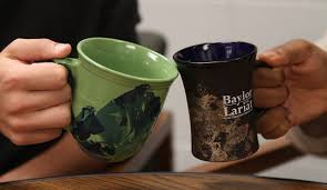 pinbusters watercolor coffee mugs the baylor lariat