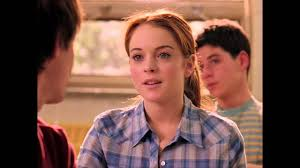 mean girls cady meets aaron samuels youtube