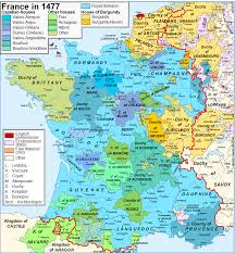 France Map Regions by Crown Lands Of France Wikipedia