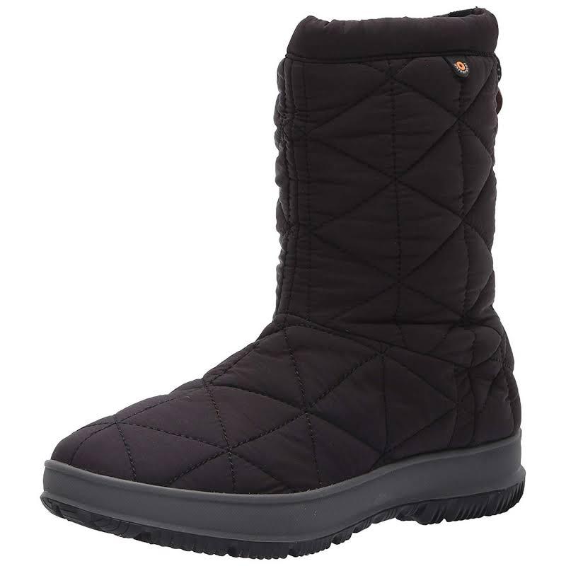 Bogs Snowday Mid Black Medium 9 72238-001-M-