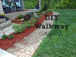 walkway ideas for backyard diy walkway for your home youtube