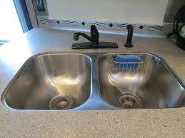 Removing An Old Kitchen Faucet by Life Rebooted U2013 Replacing Our Kitchen Faucet