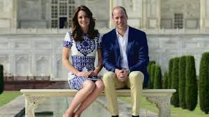 prince william and kate middleton visit taj mahal in india youtube