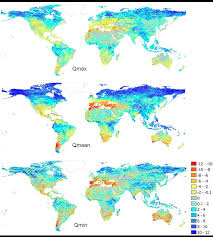 Hydrology Map Large Scale Hydrology Earth Surface Hydrology