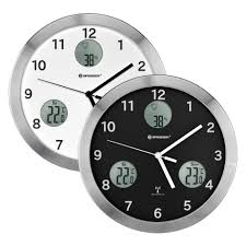 bresser mytime io wall clock 30 cm bresser