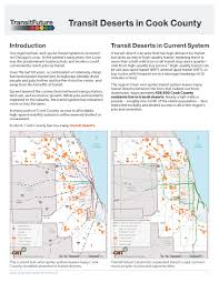 Public Transit Chicago Map by Transit Deserts In Cook County Center For Neighborhood Technology