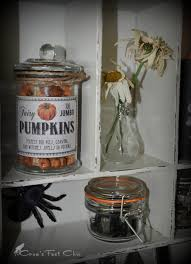 Halloween Apothecary Jar Ideas Fairy Pumpkins Apothecary Jar Crow U0027s Feet Chic