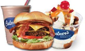 Some of Culver's food. YUM!