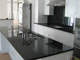 White Kitchen Cabinets With Black Granite Countertops by Black Granite Countertops With White Kitchen Cabinets Modern Kitchen