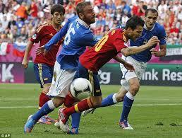Pertandingan Grup C Spanyol vs Italia