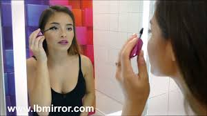 illuminated bathroom mirror harmony 24 x 32 youtube