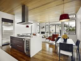 Stove In Kitchen Island Kitchen Island With Stove Beautifully Rustic Island Features The