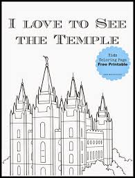 Salt Lake Temple Floor Plan by Salt Lake Temple Coloring Page Free Printable Salt Lake Temple